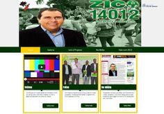 Site vereador ZICO