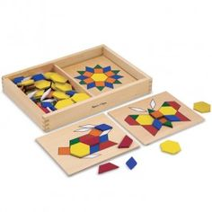 PATTERN BLOCKS AND BOARD - Late Stage - By Stage