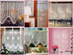 Tende e mantovane a uncinetto Drapery, Valance Curtains, Fillet Crochet, Easy Crochet Projects, Creative, Blog, Camilla, Coding, Surfer
