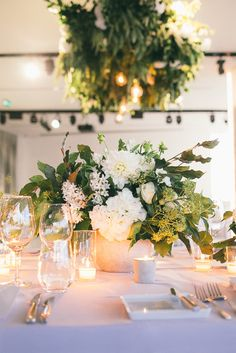 Andrea + Steve - The Style Co. | Aerial, South Wharf  Event design + Styling: The Style Co. www.thestyleco.com.au