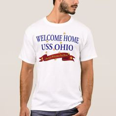 Welcome Home USS Ohio T-Shirt