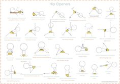 Hip opener yoga sequence - teeny tiny om