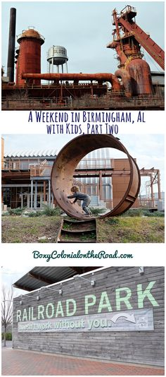 Weekend trip to Birmingham, AL with kids: Oak Mountain State Park, Sloss Furnaces, Railroad Park, and the McWane Science Center