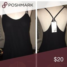 Selling this Black Rope Blouse Tank in my Poshmark closet! My username is: hperry13. #shopmycloset #poshmark #fashion #shopping #style #forsale #Norah #Tops