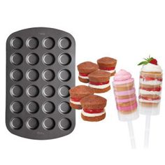 Push Up Cake Pan   Make the perfect size cakes - Kitchen Krafts
