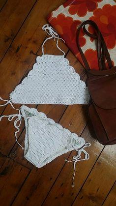 Crochet boho bikini beach ready  https://www.etsy.com/listing/214790231/hand-made-crochet-bikini-top-boho-womens