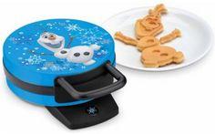 FUN Breakfast ideas, Breakfast for kids, my girls would FLIP over this Disney Frozen Olaf Waffle Maker