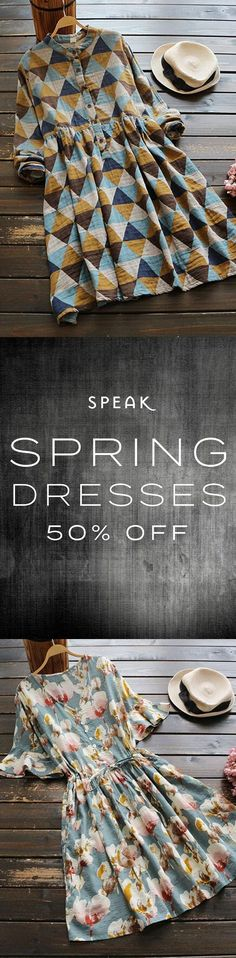 Spring Dress Sale - 50% Off (or more) - Dress Sale, Dresses For Sale, Recycle Old Clothes, Cruise Outfits, Sale 50, Spring Dresses, Spring Outfits, Le Jolie, Boho Fashion
