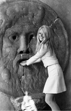 Brigitte Bardot à Rome