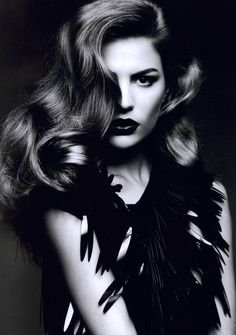 Cameron Russell by Ben Hassett for Numéro #117