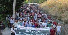 Dersim'de binler OHAL'e karşı yürüdü
