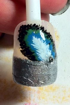 Peacock feather tips (:
