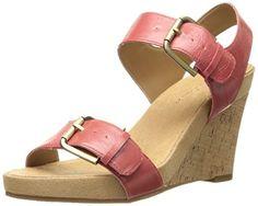aaefc032b6a1 Aerosoles Women s Mega Plush Wedge Sandal