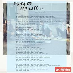 letra Story Of My Life