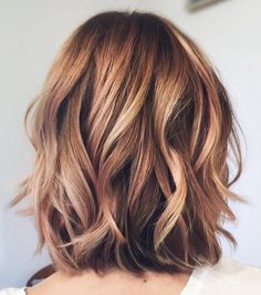 Subtle Balayage For Chestnut Brown Bob