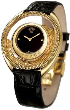 Versace watches gold 2016. An exclusive luxury and elegant product! For more inspirations visit http://www.bocadolobo.com/en/inspiration-and-ideas/