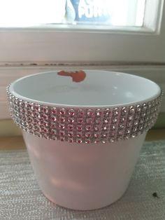 bling bling flower pot