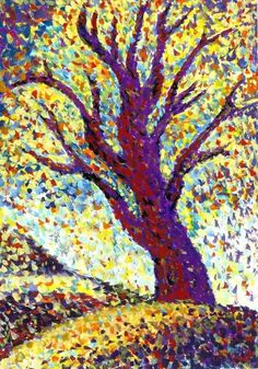 impressionism tree