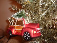 Woodie Car Ornament