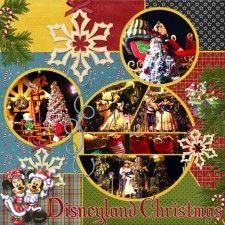 Disneyland Christmas - MouseScrappers - Disney Scrapbooking Gallery