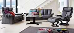 Stressless Legend Sofas with Stressless Magic Chair