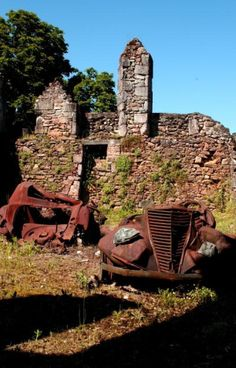 Travel Tuesday: 20 Fascinating Abandoned Places & Ghost Towns Oradour Sur Glane, France