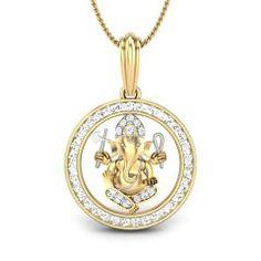 Personalized Jewellery in Platinum, Gold, & Diamonds. Ganesh Pendant, Om Pendant, Pendant Design, Diamond Pendant, Pendant Jewelry, Diamond Jewelry, Kids Jewelry, Jewelry Art, Gold Jewelry