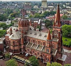 Cathedral view Lahore Punjab Pakistan Lahore Pakistan, India And Pakistan, Beautiful World, Beautiful Places, British Colonial, My Land, Rare Photos, Homeland, Cathedral