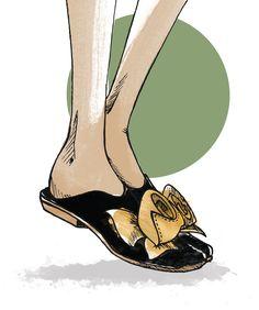 5 tendências de calçados para a primavera/verão 2018: mules Kitten Heels, Shoes, Fashion, Bold Colors, Wish, Women's Work Fashion, Trends, Bags, Drawings
