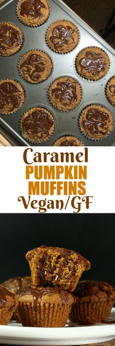 VEGAN/GLUTEN-FREE CARAMEL CRUSTED PUMPKIN LOAF or MUFFINS! Traditional pumpkin loaf gets a twist with a crispy, sweet coating and caramel spice glaze. This Vegan Gluten-free Caramel Pumpkin loaf is made with sorghum and oat flour and aquafaba. via @thevegan8