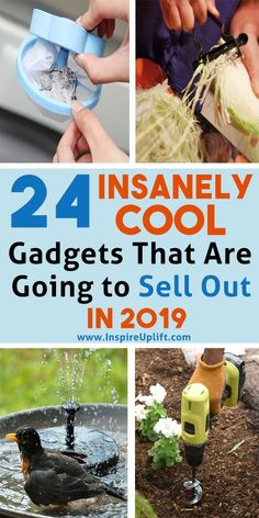 24 Insanely Cool Gadgets That Are Going To Sell Out In 2019 😍 These awesome products are selling just as fast as time is passing, but it& NEVER too late to take advantage of a great deal! Take a look at this list of amazing gadgets and don& Trick 17, Pot Mason, Gadgets And Gizmos, Fun Gadgets, Clever Gadgets, Office Gadgets, Useful Life Hacks, Daily Life Hacks, Tutorial