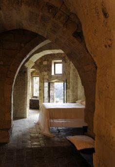 Sextantio Le Grotte di Matera, Italy. Interior. Raw. Bc.
