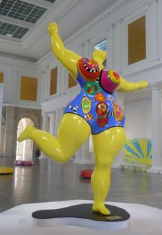 Niki de Saint Phalle - Sculpture - Nana