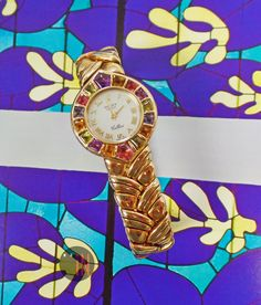Need some color in your life rolex cellini 28mm color stones 18k