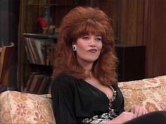 "Peggy Bundy played by Katey Sagal in ""Married with Children"" Full Hair, Big Hair, Peggy Bundy, Christina El Moussa, Katey Sagal, Tv Moms, 90s Costume, Hollywood Lingerie, Married With Children"