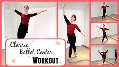 Classic Ballet Class Center Workout | Kathryn Morgan - YouTube