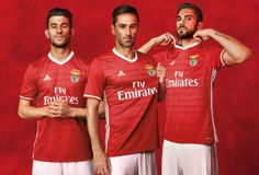 SL Benfica 2016/17 Home and Away Kits