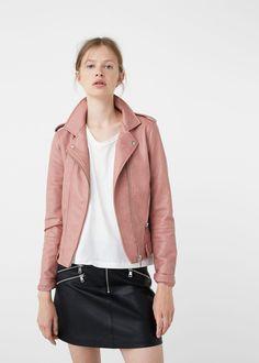 28b2c718ed25 Zipped biker jacket - Jumpsuits for Woman