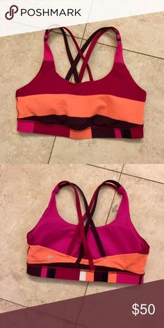 Lululemon bra size 8 Lululemon bra size 8 lululemon athletica Other