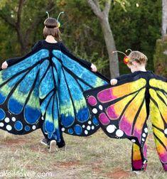 DIY Giant fabric butterfly wings - butterfly costume // Órás textil pillangó szárnyak - lepke jelmezhez (varrási útmutató) // Mindy - craft tutorial collection // #crafts #DIY #craftTutorial #tutorial