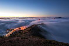 San Francisco, Golden Gate © Alienturk