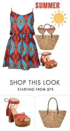 """Untitled #2323"" by carlene-lindsay ❤ liked on Polyvore featuring GUESS, Straw Studios and Givenchy"