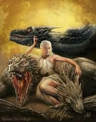 Resultado de imagen para mother of dragons daenerys