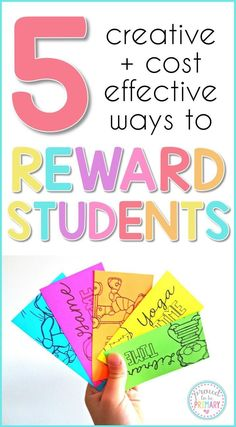 Say GOODBYE to the treasure box and HELLO to these 5 creative, cheap, and fun REWARDS for kids! Students will love the coupons, certificates, Brag Tags, and more reward ideas that are positive and the daily dose of motivation they need at school.   are th