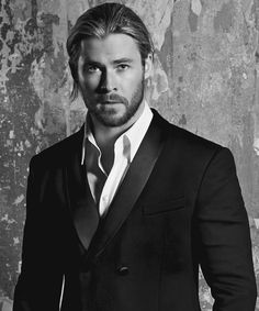 Chris Hemsworth photo shoot