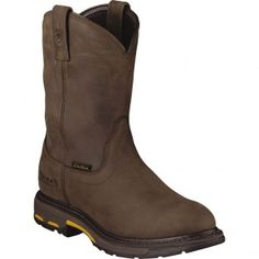 10001198 Ariat Men's Workhog H2O Work Boots - Brown www.bootbay.com