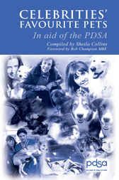 Celebrities' Favourite #Pets has been put together in aid of the #PDSA (People's Dispensary for Sick Animals) who provide free veterinary treatment to sick and injured animals.This fun book provides a fascinating insight into the favourite pets of people in the public eye and, along with the obvious choices, there are bound to be one or two surprises as we find out which animals celebrities choose to get close to.