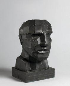 Eduardo Paolozzi (Scottish, 1924-2005) - Untitled (Head), 1994