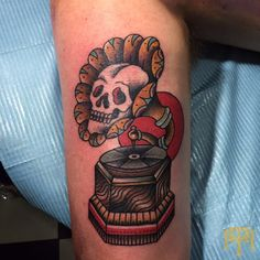 Tattoo by Luke Smith from TRADE MARK Tattoo Durban South Africa