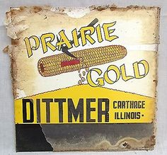 Old Malloy S Hybrid Seed Corn Advertising Metal License